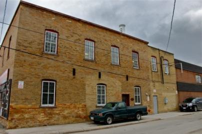 Schell's 2nd storey woodworking shop, Edward St., Stouffville, Ontario